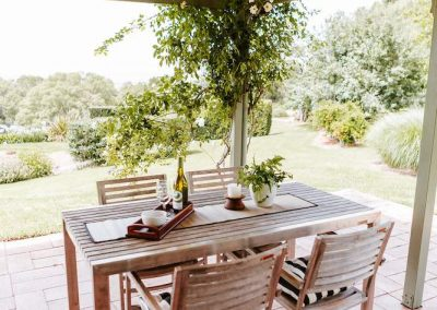 Outdoor Dining at Yellow Dog