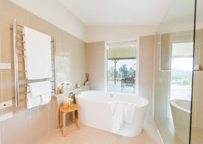 Luxury Bathroom at Yellow Dog Cottage